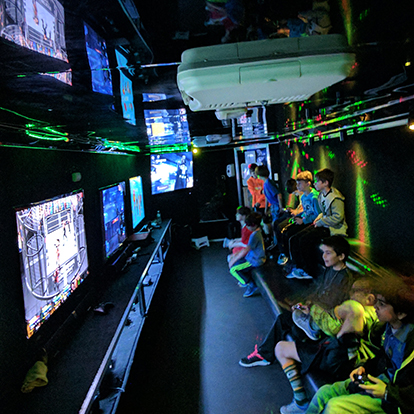 Mobile Gaming Theater